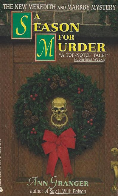 a season for murder by ann granger the second book in the mitchell and markby series i have read the first one years ago - Christmas Mystery Books