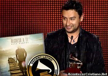 Alex Campos gana el Latin Grammy al mejor álbum cristiano