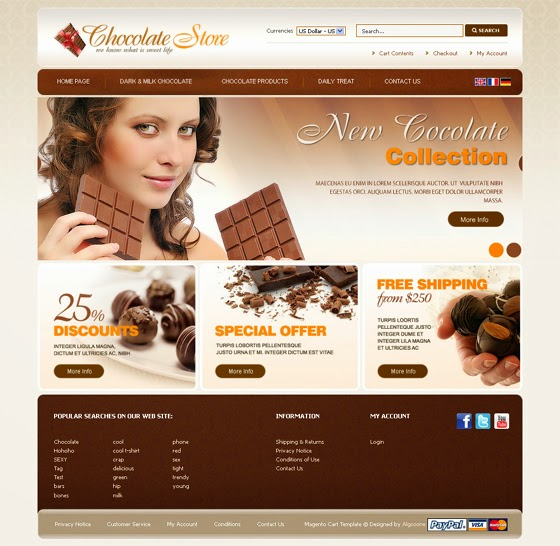 thiết kế web bán hàng bánh ngọt đẹp