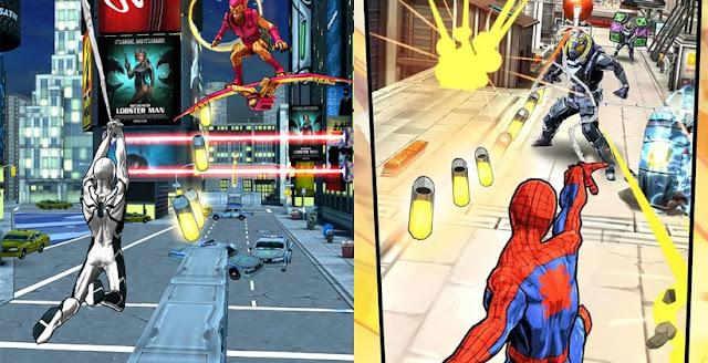 Spider-Man Unlimited v1.6.1b Apk +Dats SD [Mega Mod]