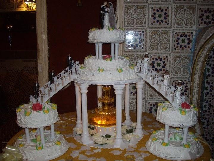 pice monte avec fontaine - Fontaine Gateau Mariage