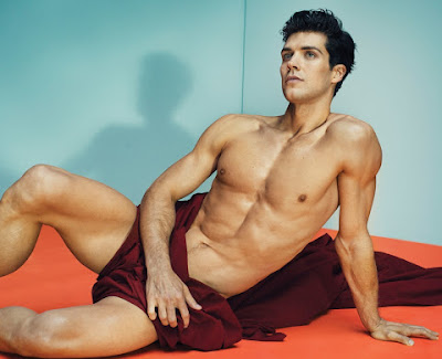 Roberto Bolle by Marc Hom for January's Vanity Fair Italia-2
