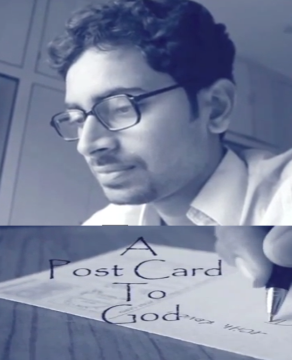 POST CARD TO GOD TELUGU SHORT FILM POSTER