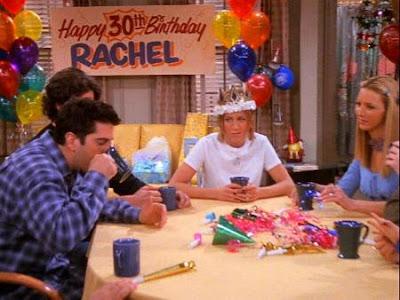 friends aniversario rachel 30 anos