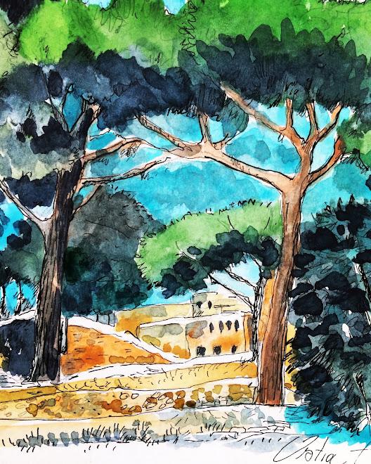 Carnet de voyage, Ostia Antica