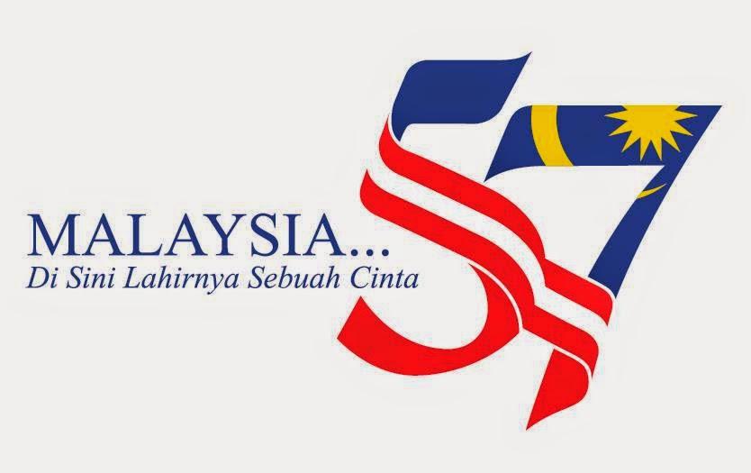 Logo dan Tema Hari Kemerdekaan ke-57 2014