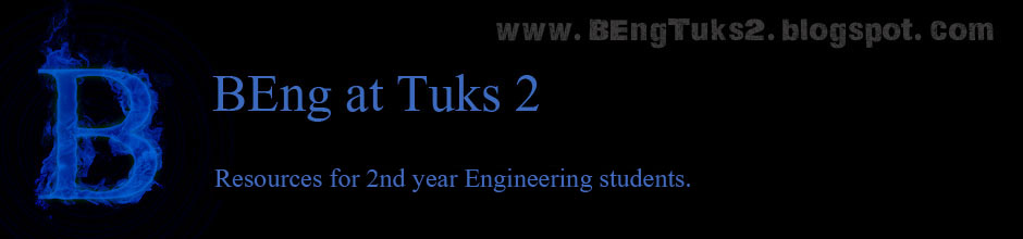 BEng at Tuks Year 2