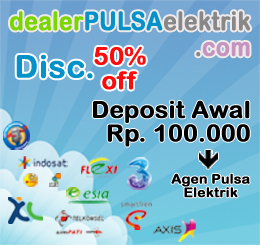 Dealer Pulsa Elektrik Murah Online