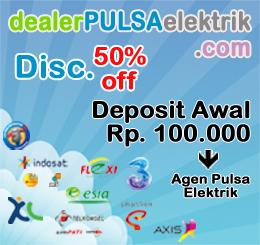 Dealer Pulsa Elektrik Murah Online