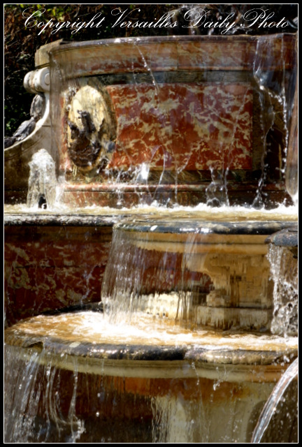 Buffet d'eau fountain Grand Trianon Versailles