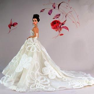 Contoh Gaun Pengantin Barbie