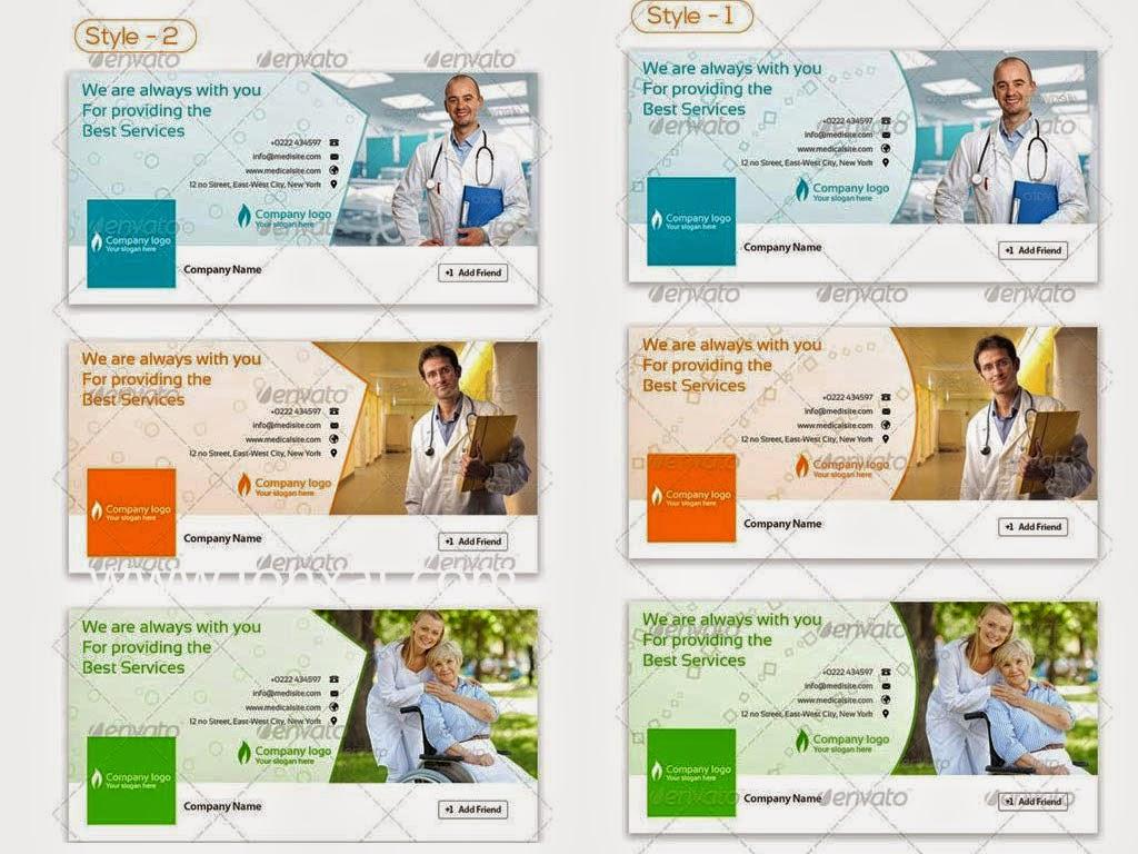 كفرات PSD للفيس بوك للاطباء cover facebook