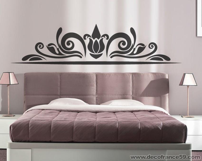Decofrance59 vente en ligne de stickers muraux - Stickers muraux tete de lit ...