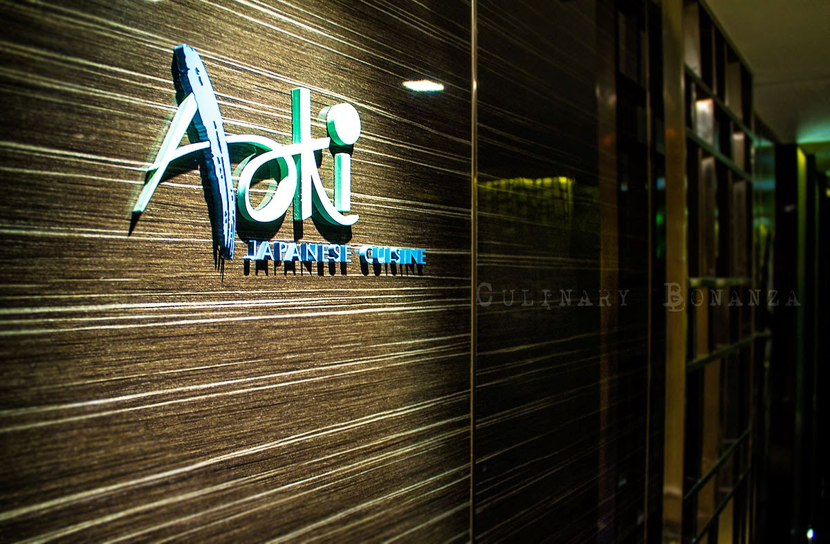 Aoki Japanese Restaurant at Gran Mahakam Hotel