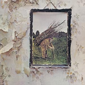 Portada del cuarto álbum de Led Zeppelin (IV)