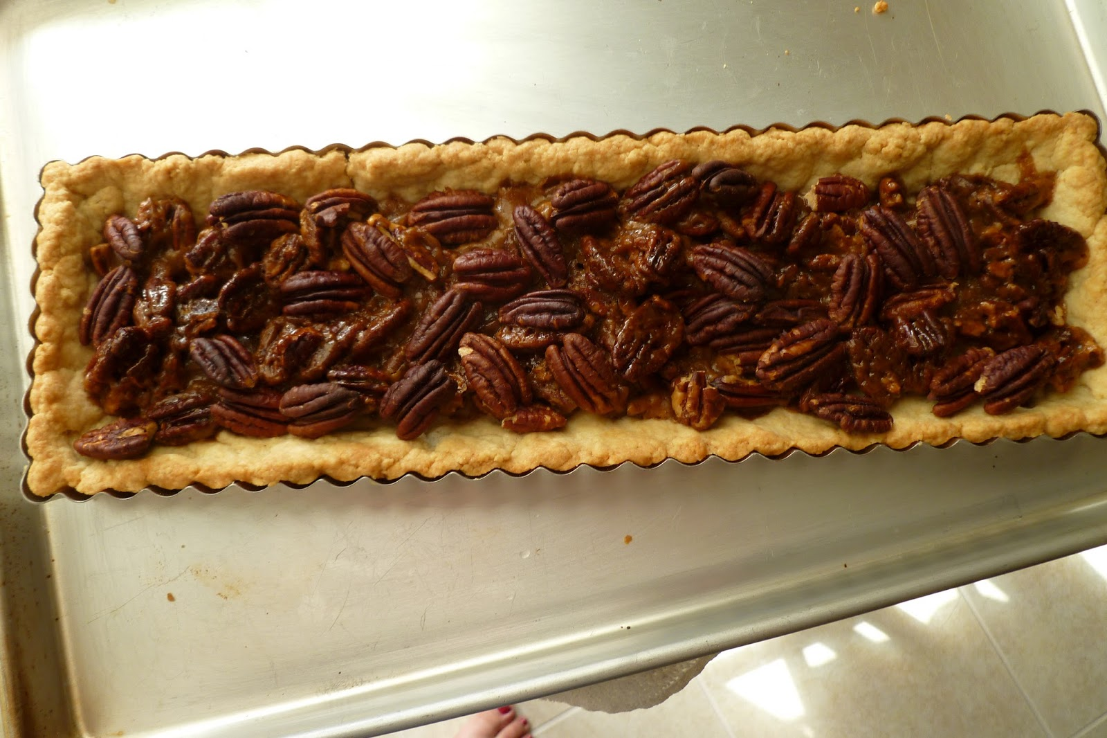 The Pastry Chef's Baking: Chocolate Pecan Caramel Shortbread
