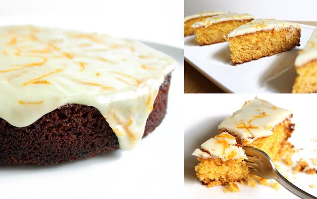 Oppskrift Vegansk Appelsinkake Påskekake Glutenfri Kake Gammeldags Hjemmebakt Polentakake Kikertmel