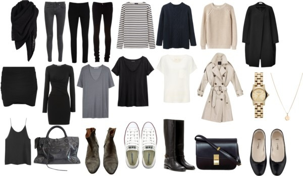how to start a minimal wardrobe