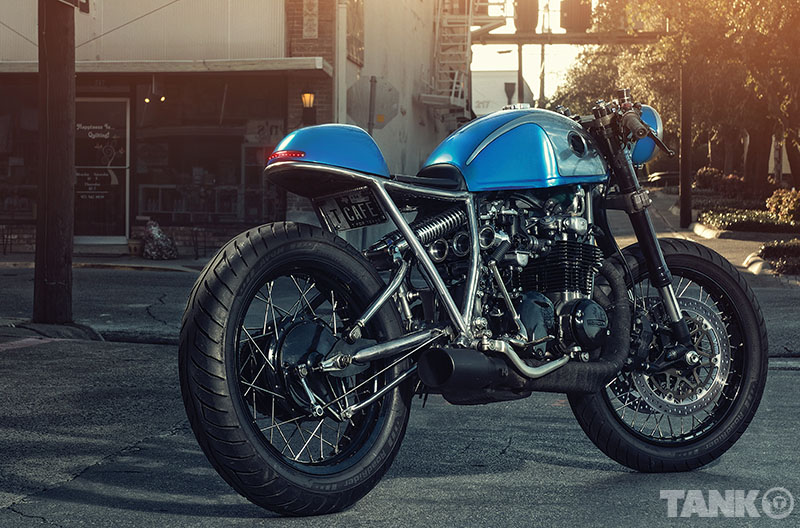 Sofi S Honda Cb550 Cafe Racer Return Of The Cafe Racers