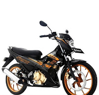 Suzuki New Satria F 150 Black Fire Gold
