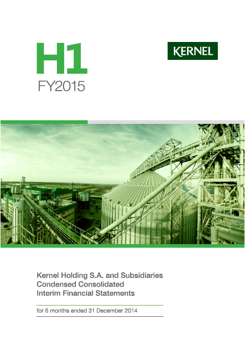 Kernel, Q2, 2015, front page