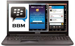 Blackberry Messenger (BBM) di Komputer
