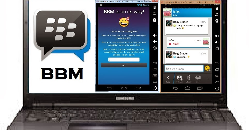 Cara Memasang Blackberry Messenger (BBM) di Komputer