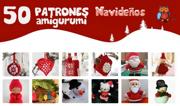 50 PATRONES AMIGURUMI NAVIDEÑOS