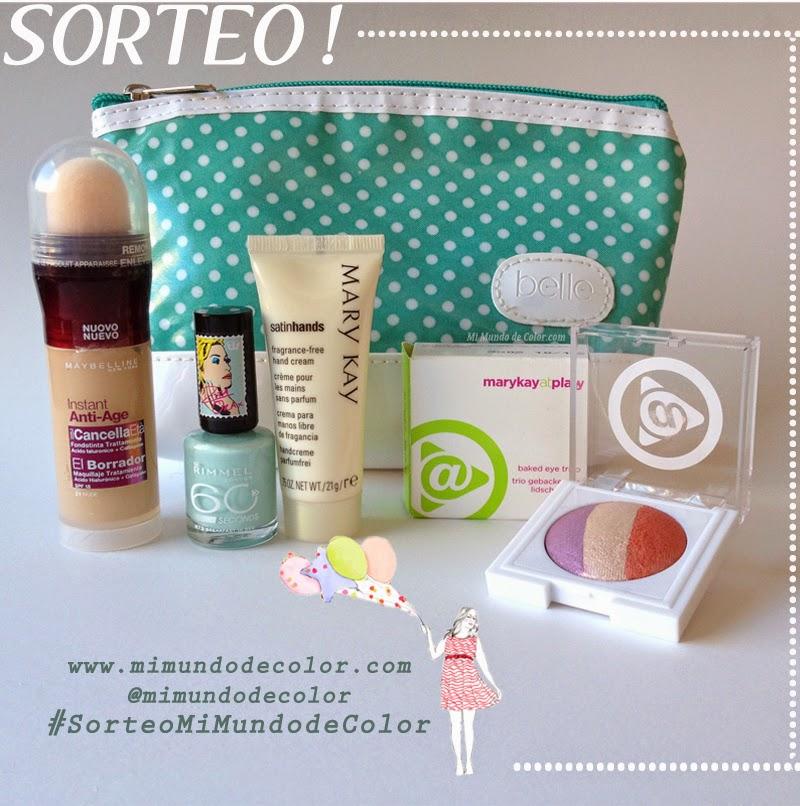 sorteo maquillaje blog