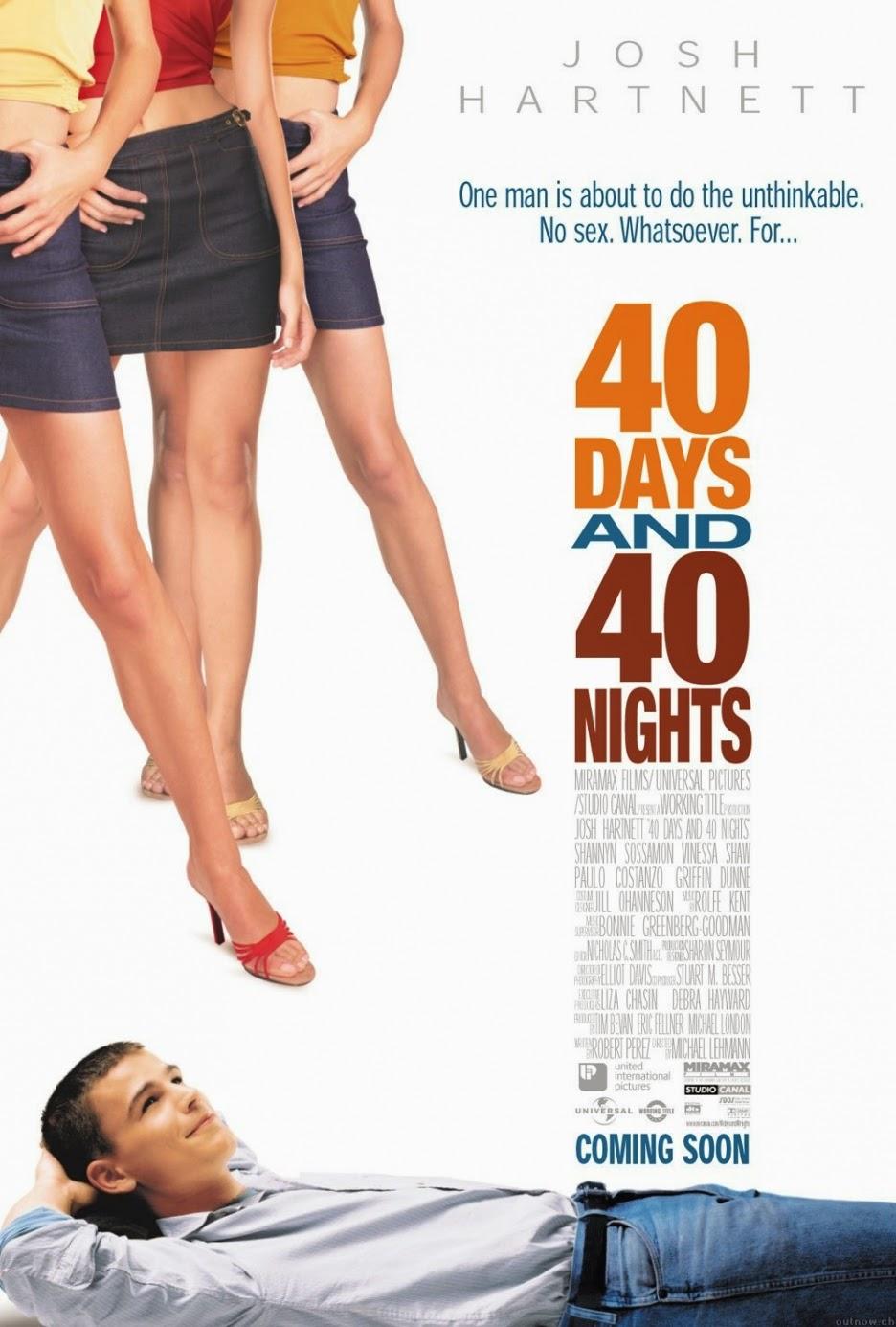40 DAYS AND 40 NIGHTS 40 วัน อั้นแอ้ม ไม่อั้นรัก HD 2002 FULL HD พากย์ไทย มาสเตอร์