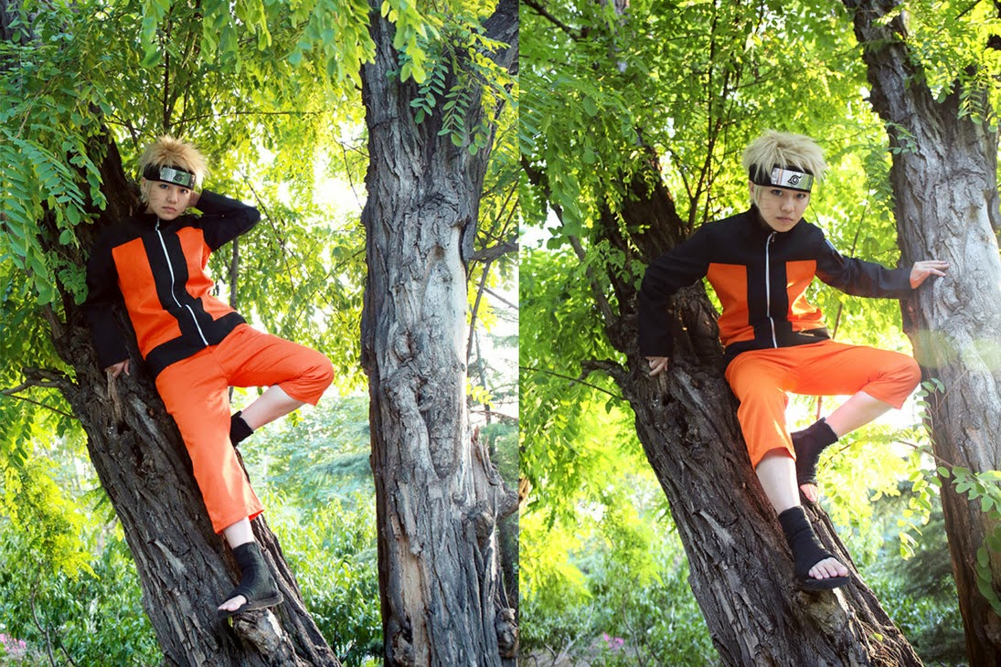 Naruto Uzumaki Cosplay Ordinary Boy