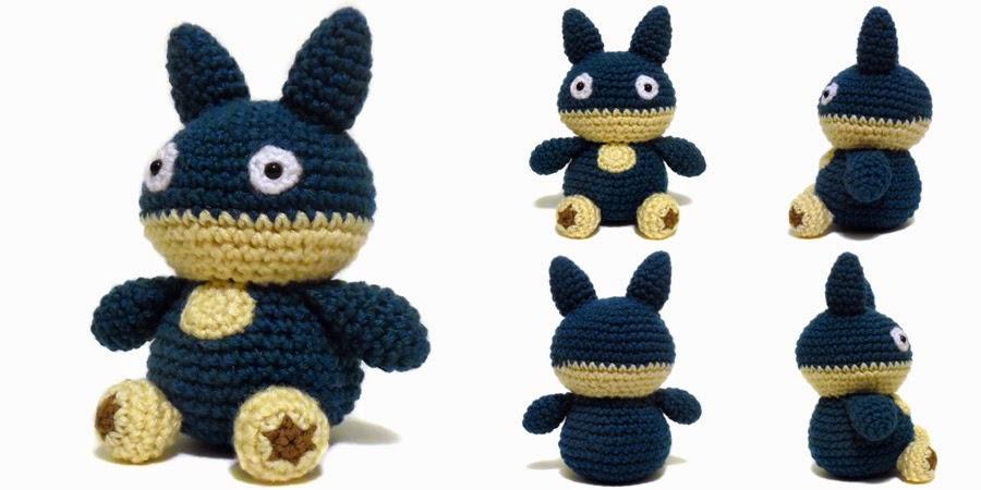 I Crochet Things Free Pattern Friday Munchlax Amigurumi