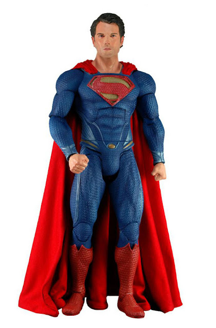 NECA 1/4 Scale Man of Steel Superman Figure