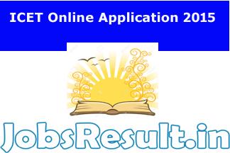 ICET Online Application 2015