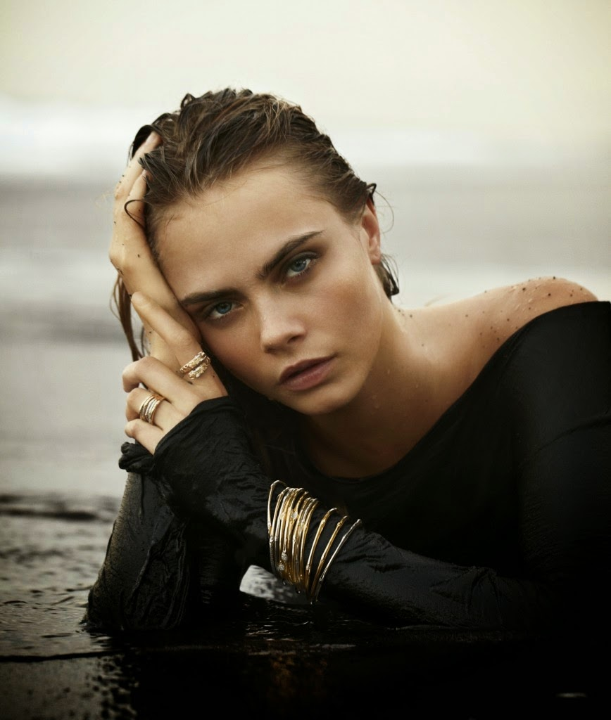Cara Delevingne stars for John Hardy's Fall/Winter 2014 Campaign
