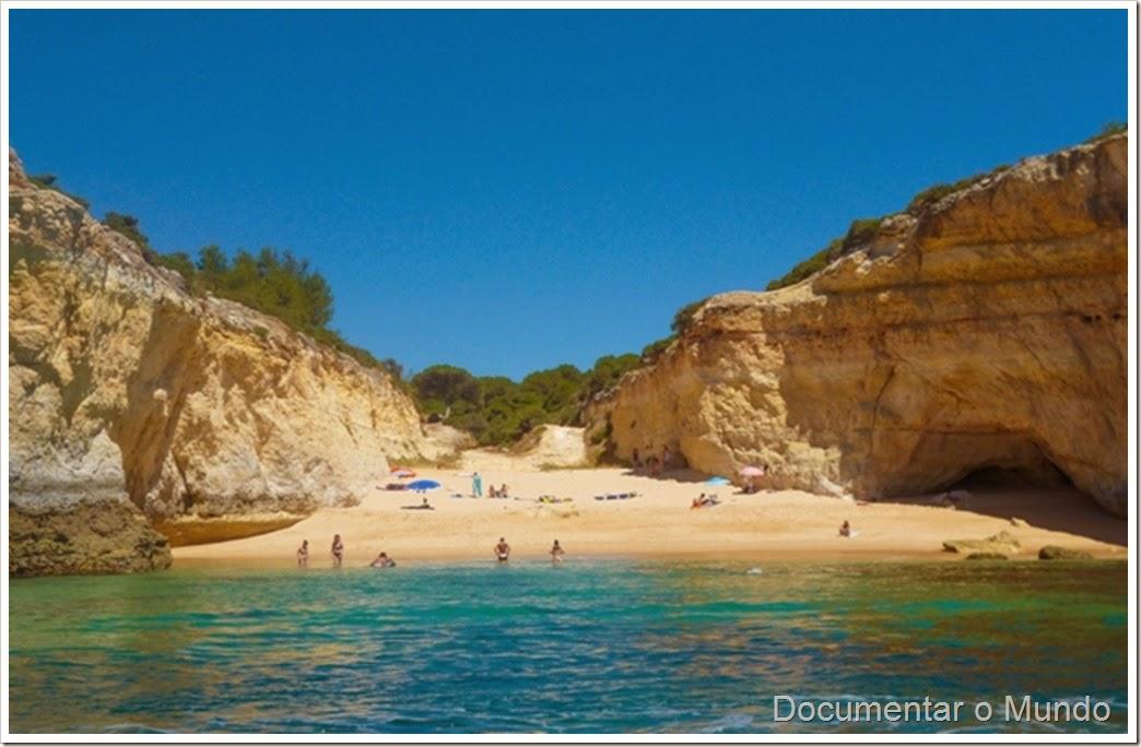 Praia do Barranquinho; Praias Algarve; Férias Algarve; Grutas Marinhas; Sea Caves; Grotten Fahrt
