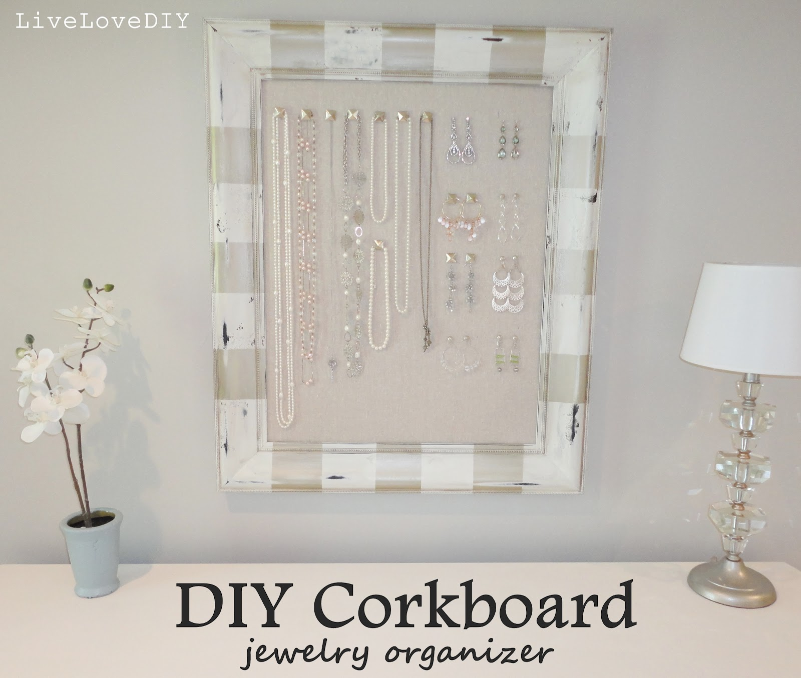 DIY Jewelry Organizer Creative Home