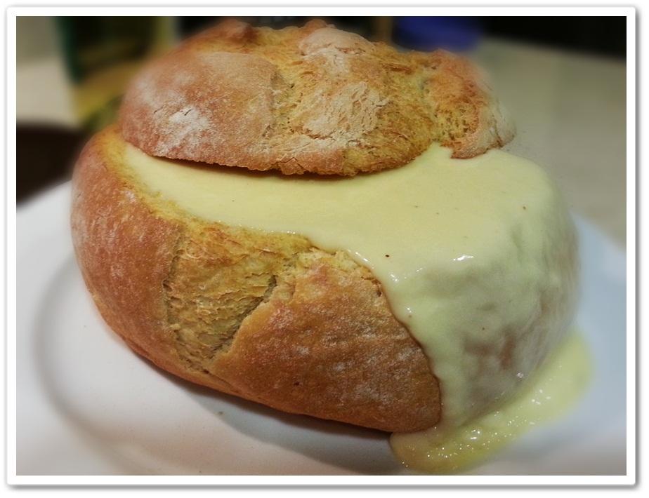 fondue de queso: