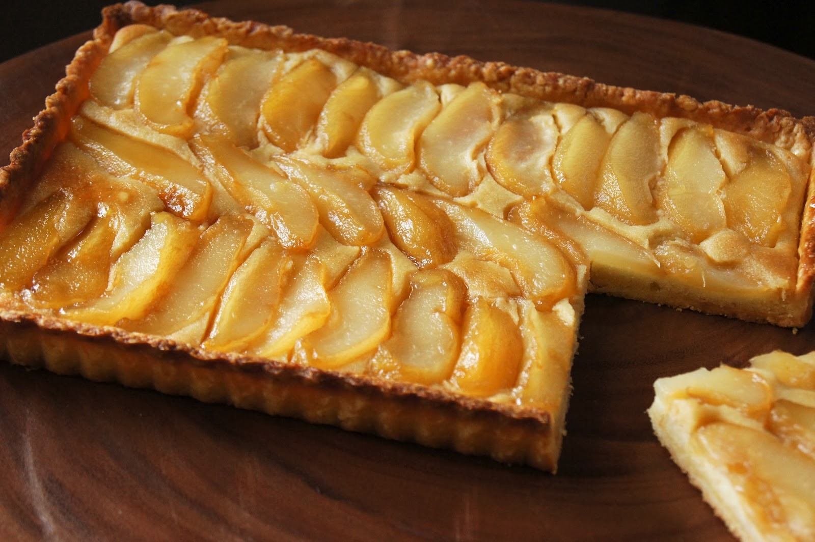 Pear Tart Recipe — Dishmaps