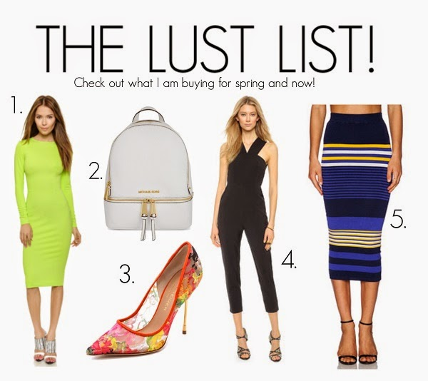 AWED BY MONICA, MY WISH LIST, LUST LIST, MICHAEL KORS, BACKPACK, WHITE BAG, MIDI SKIRT, BODYCON DRESS, TORN BY RONNY, 5TH AND MERCER, LONG SLEEVE DRESS, KURT GEIGER LONDON, SHOP STYLE, TGIT, TBT, WHAT TO BUY, LFW, NYFW, JUMPSUIT, ROMPER, AWED BY MONI, STYLE BLOGGER, BLOGGER STYLE, ATLANTA BLOGGER