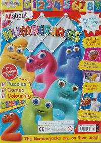 Numberjacks magazine.