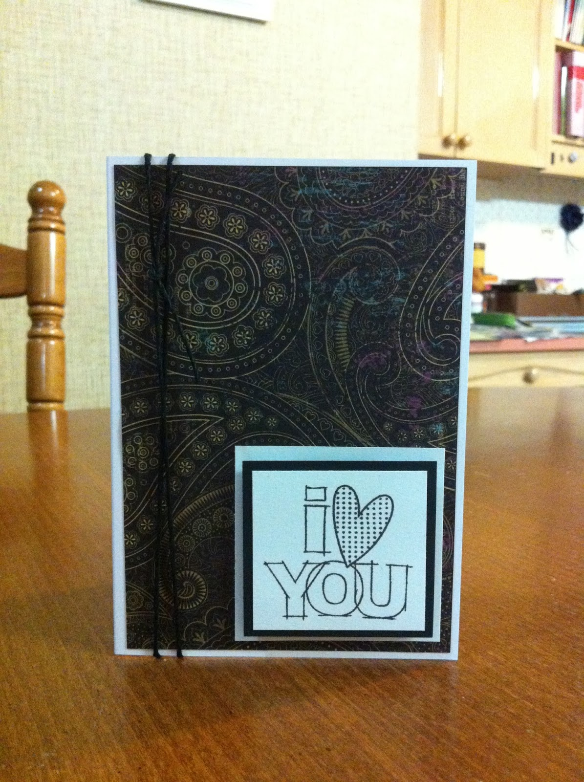 """I Heart You"" Card"