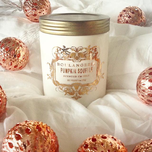 Pumpkin Souffle Candle