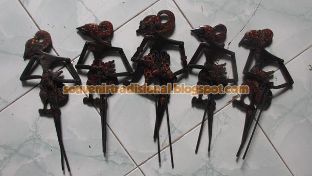 Wayang Batik Pandawa Lima