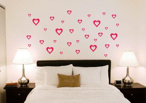 Papéis de parede no seu quarto Depois que crescemos ~ Adesivo De Parede Para Quarto Casal Romantico