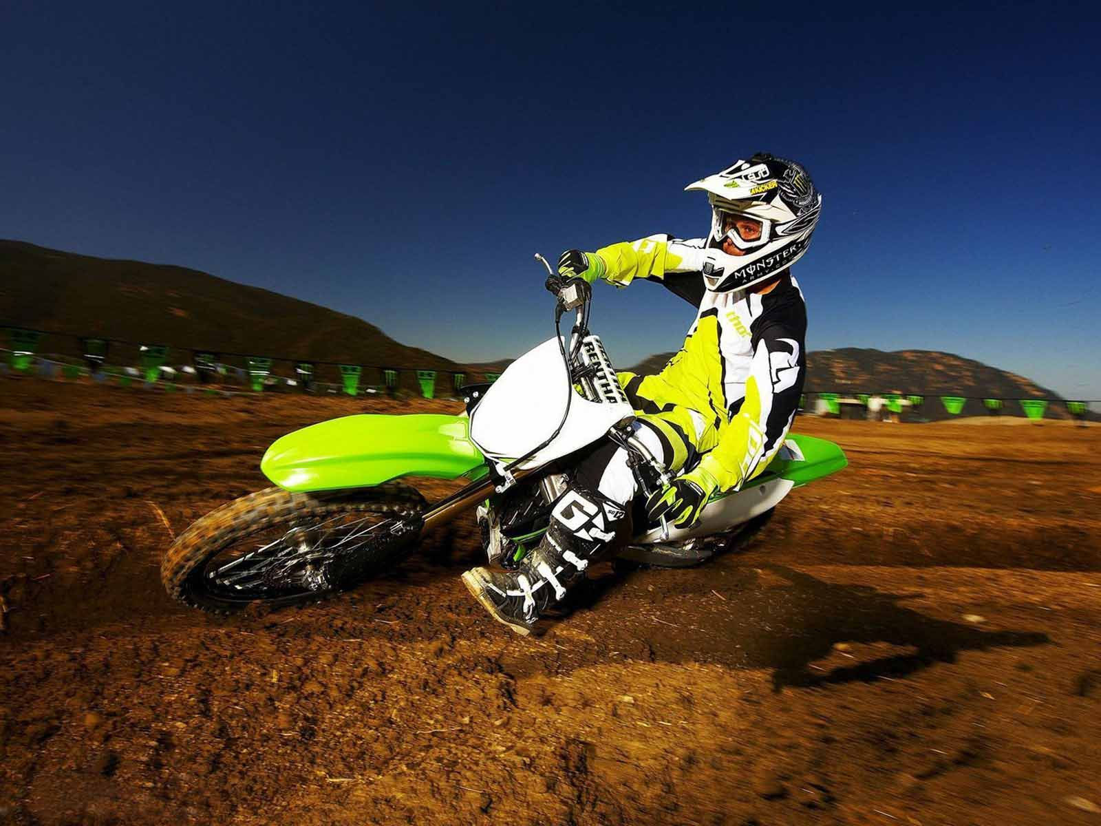 kawasaki dirt bike wallpaper hd wallpapers pics