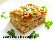 Mäsovo-zeleninové lasagne - recept