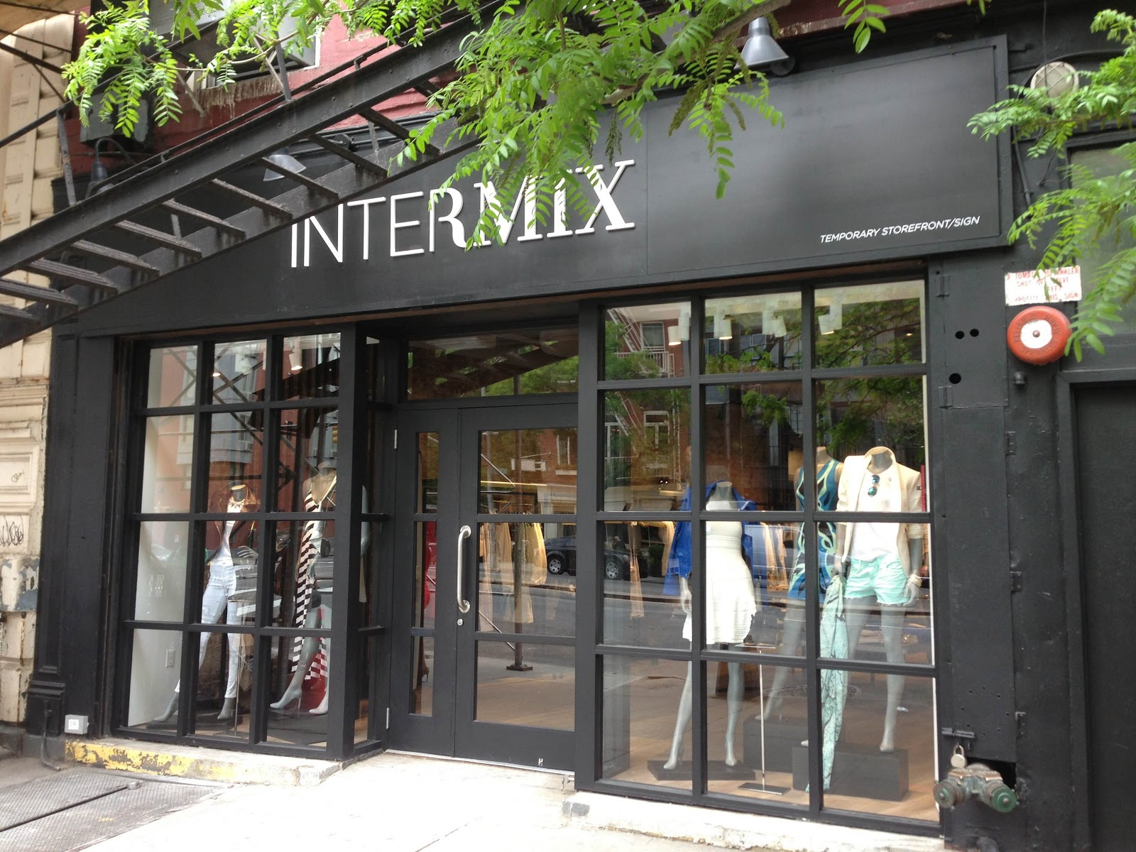 Established in , INTERMIX is a multibrand fashion retailer with a compelling and unique point of view. Its twenty-eight boutiques across the United States and Canada and e-commerce site offer a curated mix of on-trend, irresistible pieces, celebrating each customer's personal sense of style with an intimate, individualized approach.