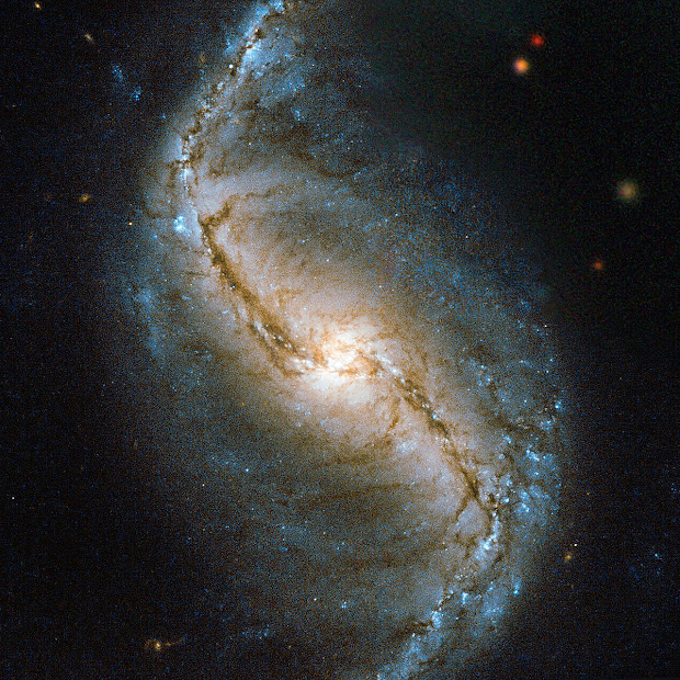 Barred Spiral Galaxy NGC 986