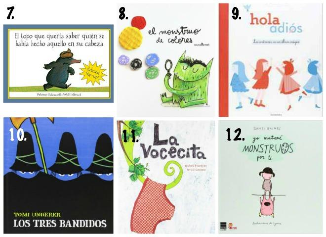 5 bibliografias de libros infantiles